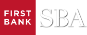 First Bank SBA Logo